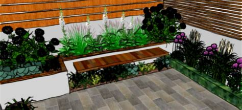 Designs For Small Gardens Ideas Small Garden Design Ideas With Cool Outdoor Living Furniture Homelk