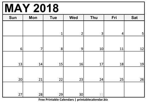 printable calendar of 2018 may 2018 calendar printablecalendar biz