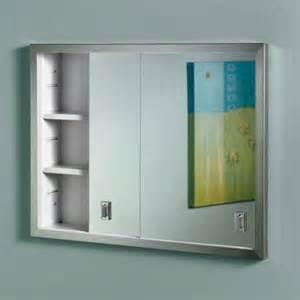 nutone medicine cabinets broan nutone contempra 24w x 19h in recessed medicine