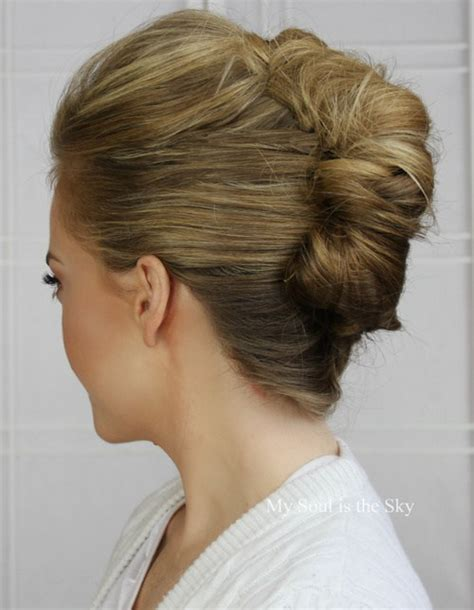 updo hairstyles with big twist 50 stylish french twist updos
