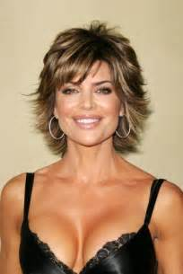 medium flipped hair celebrity hairstyle haircut ideas lisa rinna short