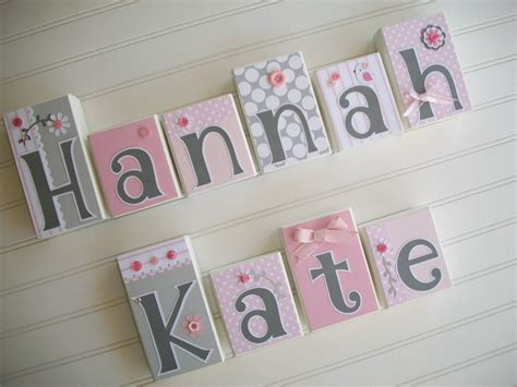 Baby Nursery Name Letters Thenurseries Nursery Decor Letters