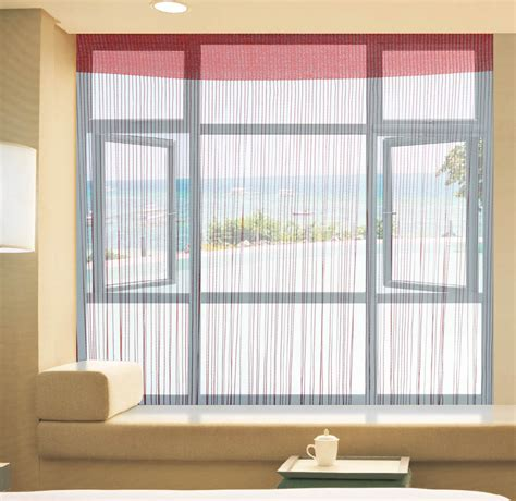 string curtain malaysia decorative solid color window blind room divider string