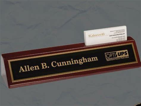 desk name plate with card holder pinterest the world s catalog of ideas