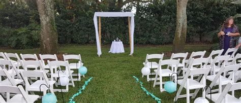 small backyard wedding ceremony backyard wedding ceremony ta