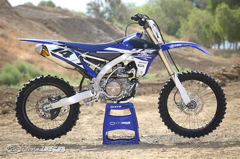 yamaha motocross bikes taming the beast a year with the 2015 yamaha yz450f