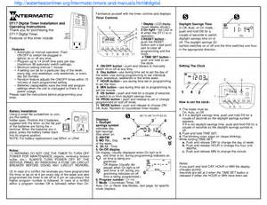 download free pdf for intermatic dt17 timers other manual