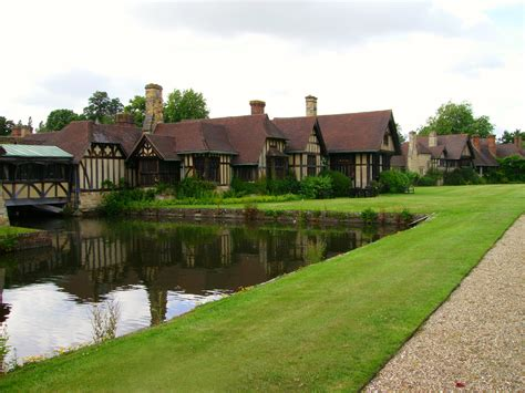 Cottage And Castles by File Hever Castle Cottages Near Moat Jpg