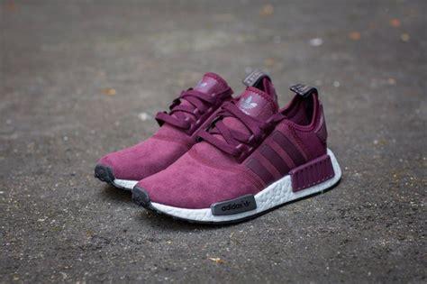 adidas nmd r1 purple maroon solid grey