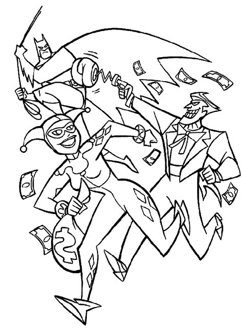 joker coloring pages batman and joker coloring pages