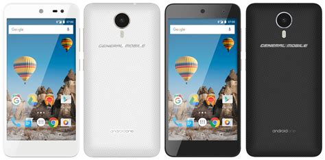 Android One Phones by General Mobile Announces Gm 5 Nougat Powered