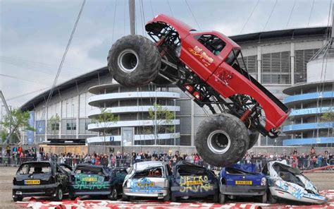 monster truck stunt show offer 2 for 1 tickets to the extreme stunt show at york