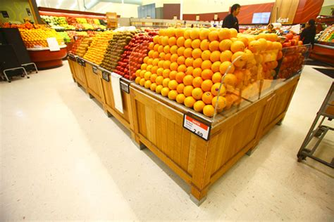 produce vegetables and fruit display fruit vegetable displays plastic fabrication laser