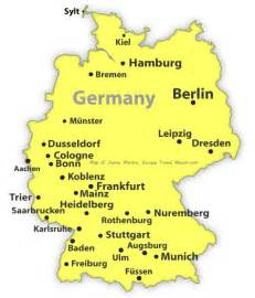 Germany Map Cities by Pics Photos Map Germany Cities