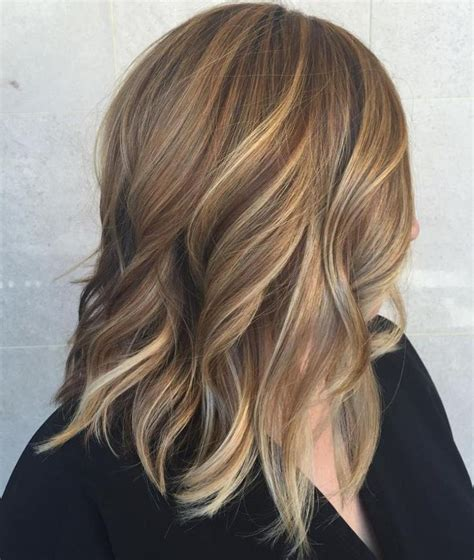 medium length brown hair with bangs and blonde highlights 78 best ideas about brown hair blonde highlights on