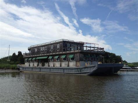 houseboat nj used 1942 barge restaurant restaurant port norris nj