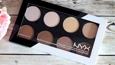 Nyx Contour nyx highlight contour pro palette review swatches