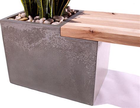 modern planter bench tao planter bench modern indoor benches phoenix by
