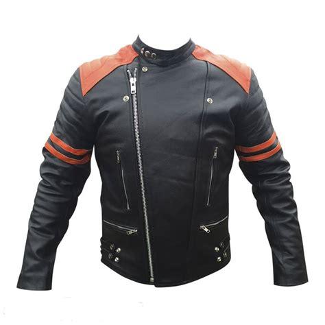 Handmade Leather Clothing - handmade bomber leather jacket s leather jackets