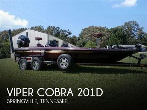 viper cobra bass boat reviews for sale used 2000 viper cobra 201d in springville