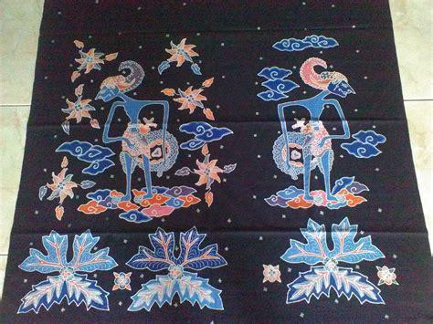 jual kain batik tulis motif wayang erwan batik
