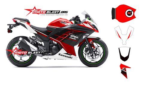 Striping Motor Kawasaki Ss 2014 Merah modif striping kawasaki 250r fi merah terbaru motoblast motoblast