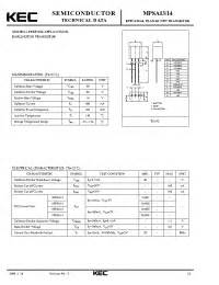 transistor mpsa13 datasheet mpsa13 kec epitaxial planar npn transistor general purpose darlington transistor