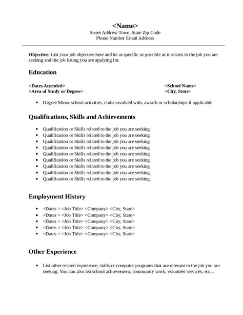 how to write effective objective statement for resume