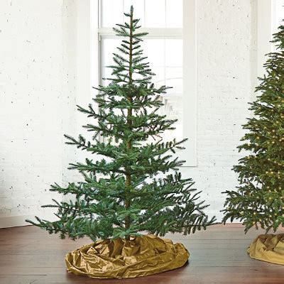 artificial silvertip christmas trees for sale how do i order the 7 fresh cut noblis fir artificial tree p