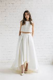 wedding tops best 25 wedding skirt ideas on a line leanne marshall wedding dresses and sleeved