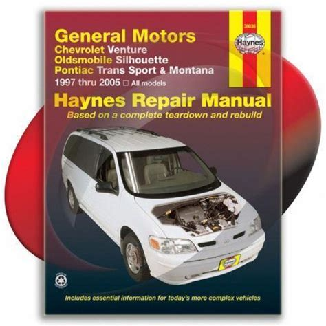 old car repair manuals 2003 pontiac montana transmission control pontiac montana repair manual ebay