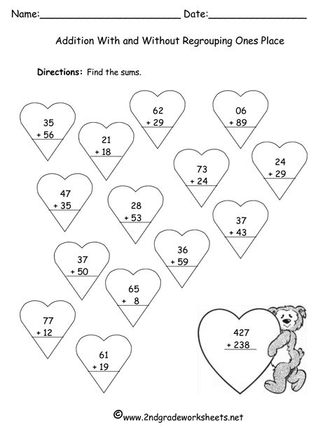 adding with regrouping worksheets free no regrouping addition coloring pages