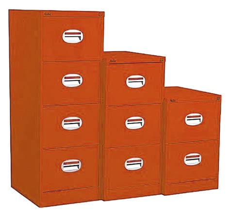 Orange Filing Cabinet Orange Filing Cabinet 2 Drawers