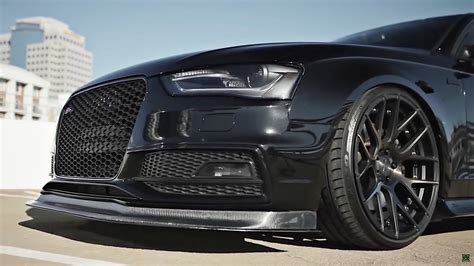 2014 audi s4 rims audi s4 with armytrix exhaust system and stance wheels