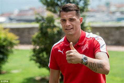 Xhaka Granit Granit Xhaka Signs For Arsenal 163 35m Deal As Arsene Wenger