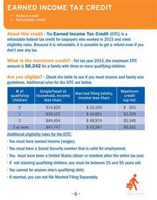 Tax Credit Letter About Single Claim 2015 Tax Credit Guide For Tax Year 20 Simplebooklet