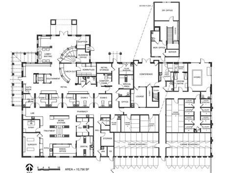 floor plan hospital veterinary floor plan bit spur animal hospital my