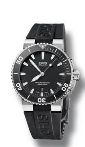 Urban Style For Men - oris 0173376534154 0742634 mens aquis swiss made dive watch bright watches