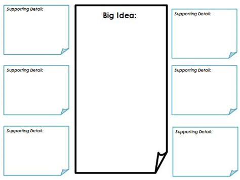idea sheet template literacy tuesday top 2 for 10