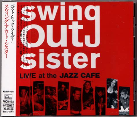 swing out sister circulate swing out sister live at the jazz cafe japan cd