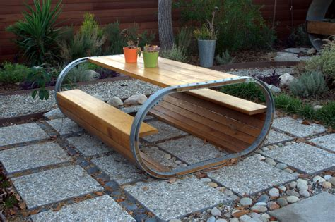 Patios Designs by Baril Picnic Table A Picnic Table Inspired By A Wine