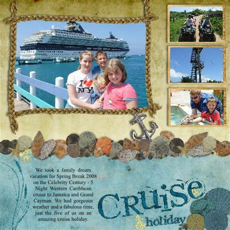 scrapbook layout ideas cruise 1000 images about scrapbook beach ocean theme on