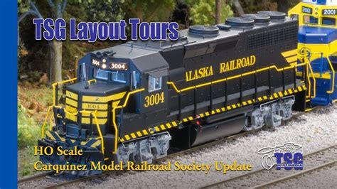 model railroader video layout tour ho scale dcc train layout tour update carquinez model