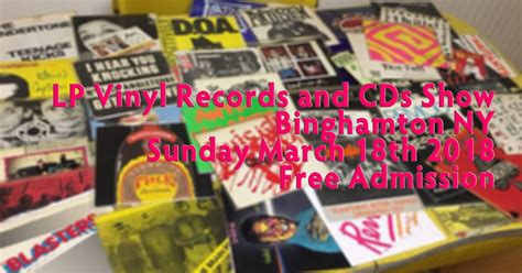 Free Records Ny Lp Vinyl Records And Cd Show Binghamton Ny Sunday March 18th Free Admission