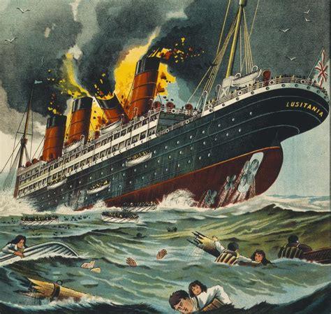 ww1 sinking of the lusitania ww1 lusitania