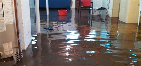 what to do and what not to do when your basement is flooded