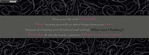 Kindsight Quote Facebook Cover Unique Girly Backgrounds
