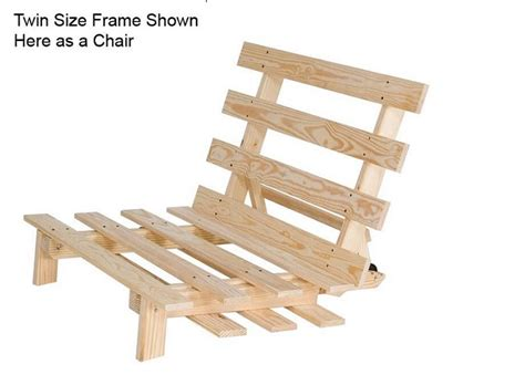 twin futon chair frame futon twin chair frame