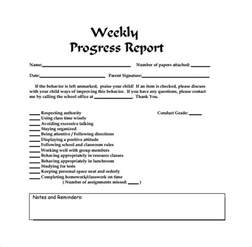 Weekly Report Template by Weekly Report Template 11 Free Documents In Pdf