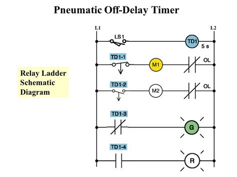 time delay relay circuit diagram delay timer wiring diagram wiring diagram and schematics